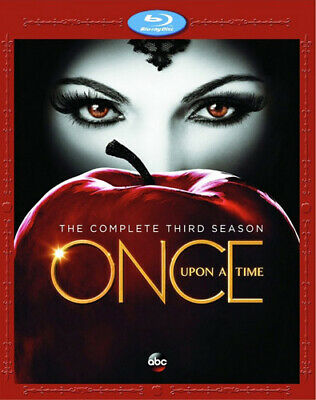 Once Upon a Time: The Complete Third Season (Season 3) (5 Disc) BLU-RAY NEW