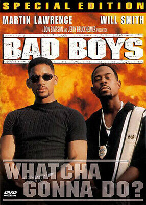 Bad Boys (1995 Will Smith) (Special Edition) DVD NEW