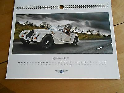 2012 -  CALENDRIER AUTOMOBILES  MORGAN- superbes photos de qualité 40 x 30 cms