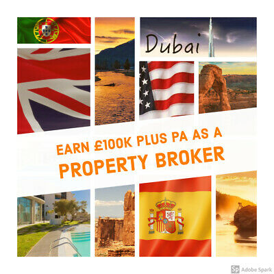 Business Opportunity. International Property Broker leads provided.
