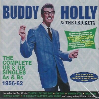 [Brand New] 2Cd: Buddy Holly & The Crickets: Complete Us & Uk Singles 1956-62