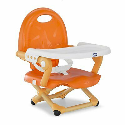 Baby Feeding Booster Seat - Chicco Toddler Travel Portable Folding Chair Tray