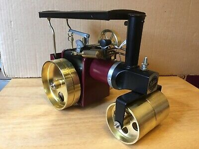 MAMOD HOBBY CLUB SRIA ROAD ROLLER BURGUNDY LTD ED No.35 NEW IN BOX WITH CERT.