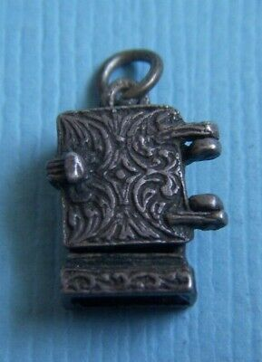 Vintage 40's movable refrigerator door opens sterling charm