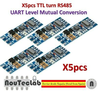 UART Serial Port to RS485 Converter Function RS485 to TTL Stable Module ATF