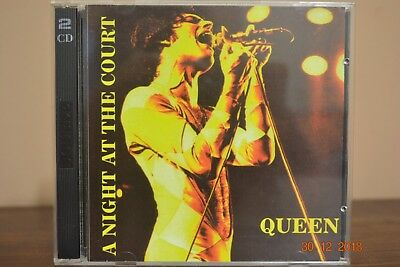"Extreme Rare Cd Queen / Mercury ""live At The Court"" With Tracks From 1977 & 1973"