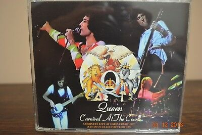 "Queen Freddie Mercury Very Rare Complet Concert ""carnival At The Court"" 2Cd+Dvd"