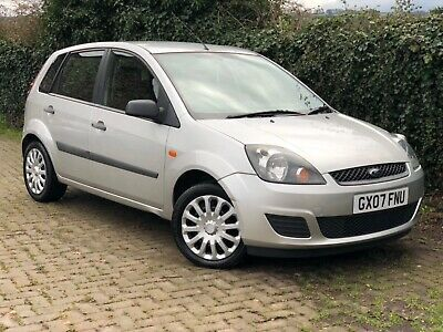 Ford Fiesta Tdci 1.4 Diesel Style 2007 Silver Service History A/c 5 Door £30 Tax