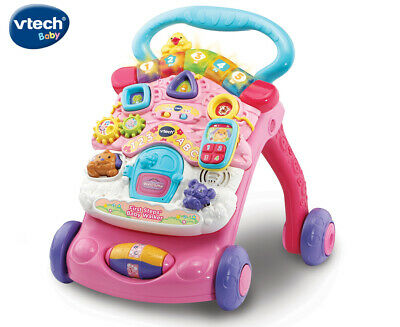 VTech Baby First Steps Baby Activity Walker Toy - Pink