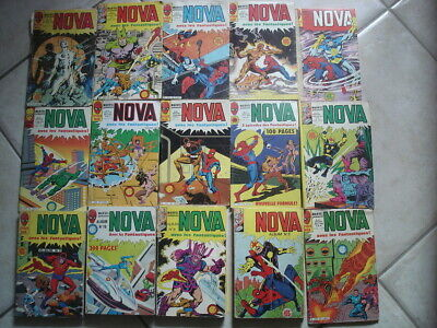 LOT NOVA COMICS STRANGE Marvel série