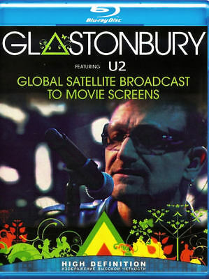 U2 Live At Glastonbury Blu-Ray
