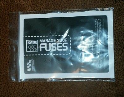 Keis Fuses for heated apparel full set