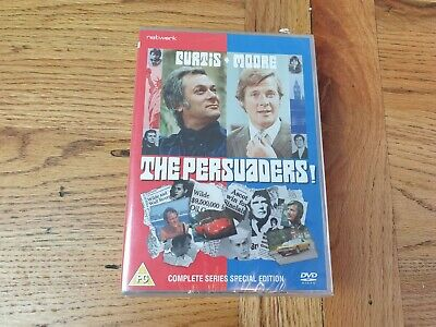 THE PERSUADERS The Complete Series VGC DVD Set Tony Curtis Roger Moore SEALED