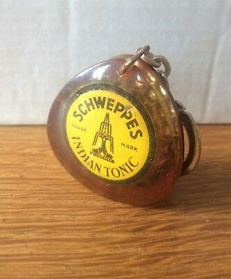 "Porte-Clef Ancien,"" Schweppes  "",copoclephilie,indian Tonic,"