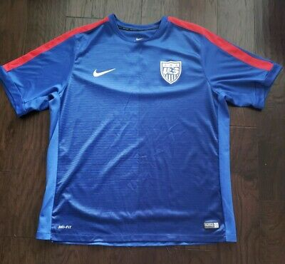 fa82cfaf0 Nike Dri Fit Authentic USA United States Soccer National Team Jersey - XXL