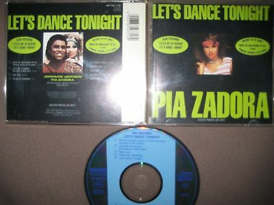 CD Pia Zadora Let's Dance Tonight When The Rain Begins To Fall Jermaine Jackson