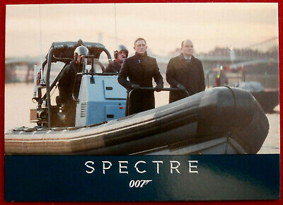 JAMES BOND - SPECTRE - Card #010 - BOND AND TANNER - Rittenhouse