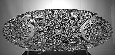 Incredible Expanding Star Serving Tray, Superior Blank & Cutting ! W/ Bonus Opt.