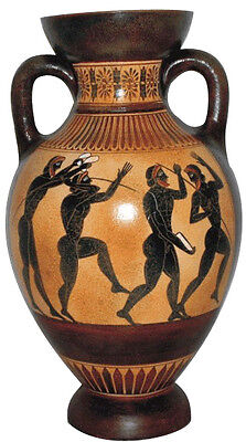 Panathenaic Amphorae Amphora Olympic athletes Vase Ancient Greek Reproduction