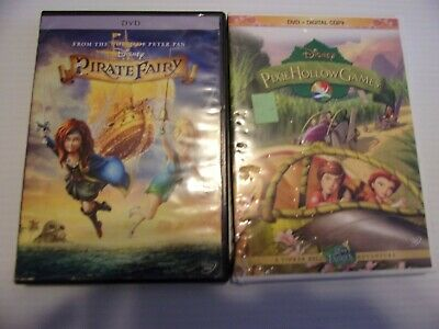 Disney's Pirate Fairy/ Pixie Hollow Games  Dvd Lot Of 2