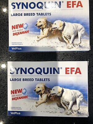 Synoquin EFA Large Breed 30g X 52 Tablets