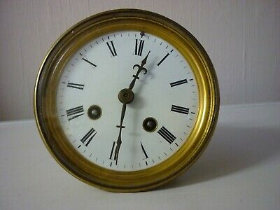 Vintage French Mantle Clock Movement