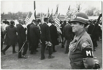Paul CONKLIN: Civil Rights, Selma, 1965 / PIX Agency / PC-20 / VINTAGE / STAMPED