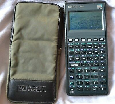 HP 48G+ Graphing Calculator, with case