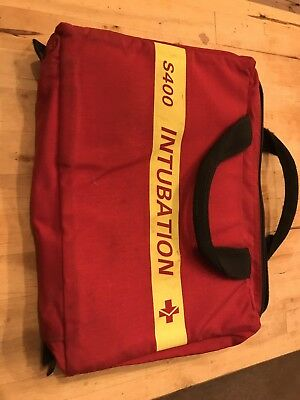 INTUBATION POUCH (empty), PARAMEDIC, AMBULANCE, FIRST AID, DOCTOR, EMT