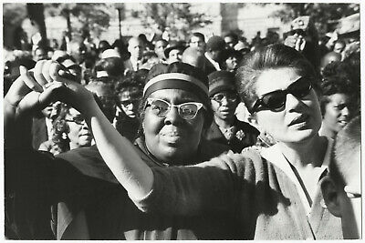 Paul CONKLIN: Civil Rights Demonstration, 1965 / PIX Agency / PC-36 / STAMPED