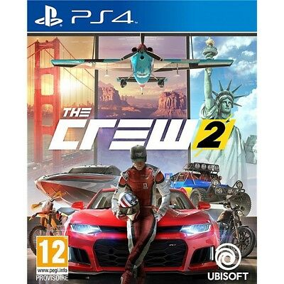 Jeux Video PS4 Playstation 4  THE CREW 2 Neuf Sous Blister Version Francaise