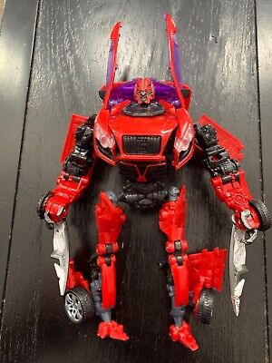Transformers DOTM Autobot Dino (Mirage) Movie Advanced Series Deluxe Complete