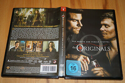 The Originals Season 5 -- Staffel 5 -- Final Season -- 3-DVD-Set -- TOP !