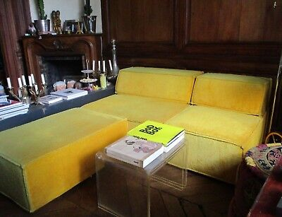 COR yellow sofa  COR Trio Sofa by Team Form AG, 1972