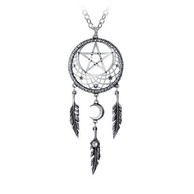 Pagan Dream Catcher Pendant by Alchemy Gothic