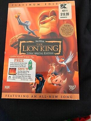 Walt Disney The Lion King Platinum Edition