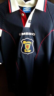 Official Selection France 98 T-Shirt From Scotland Vintage  Umbro Talla Xxl