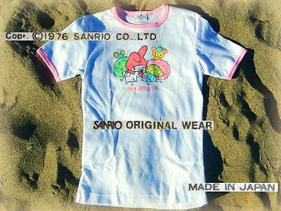 👚 EXTRA-RARE SANRIO MY MELODY 1976 Maglietta T-Shirt NEW JAPAN *!NOT FOR USE!*