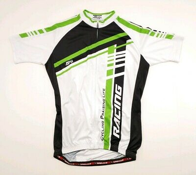 1e98c950f CANNONDALE LIQUIGAS MENS SS Large Sugoi Jersey Black Green White ...