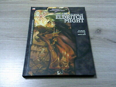 d20 The Complete Book of Eldritch Might HC Sourcebook 2004 Mulhavoc Press TOP