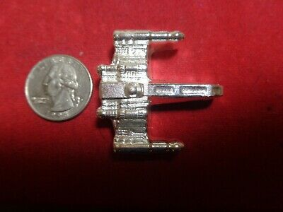 2.9 Troy ounce .999 Silver. Hand Poured Starfighter design ingot   MFS