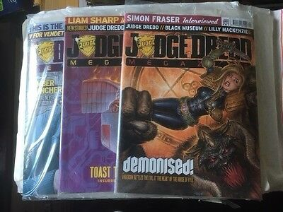 2000Ad Judge Dredd Megazine 278-388 Issues All Still Sealed Mint Cond £2.50 Each