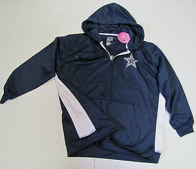 40bac092e Dallas Cowboys NFL Women s Plus Size 1 4 Zip Sweatshirt Jacket Size 3X - NWT