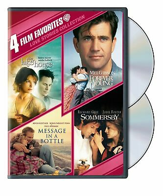 4 Film Favorites: Love Stories (Forever Young, The Lake House, Message in a Bo..
