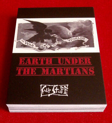"H.G. WELLS: ""EARTH UNDER THE MARTIANS"" - Full Set (27 cards) by Cult Stuff"