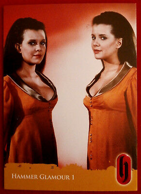 HAMMER HORROR GLAMOUR - Mary & Madeleine Collinson, Card C1-S2 Strictly Ink 2010