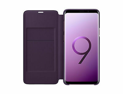 Original Samsung Galaxy S9 Plus S9+ LED View Cover Wallet Case EF-NG965 Purple