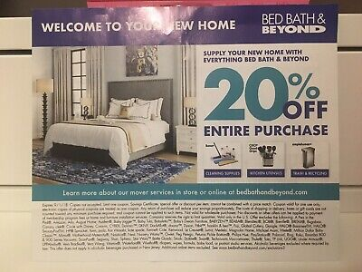Bed Bath & Beyond Coupon - 20% Off Entire Purchase!
