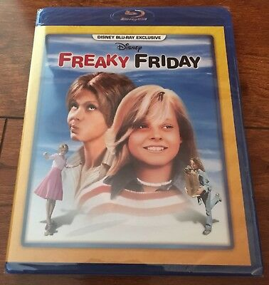 Freaky Friday (1977) Disney Movie Club Blu Ray Exclusive Jodie Foster BRAND NEW