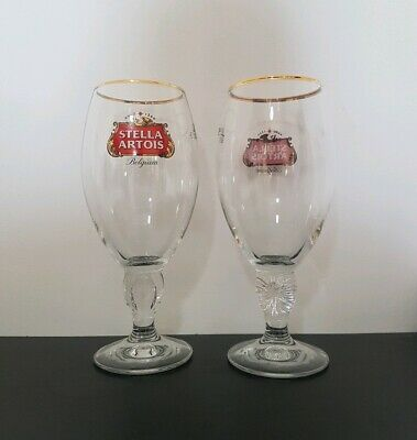 Brand New 500ml/50cl Stella Artois Beer Glasses Glass Pint Branded